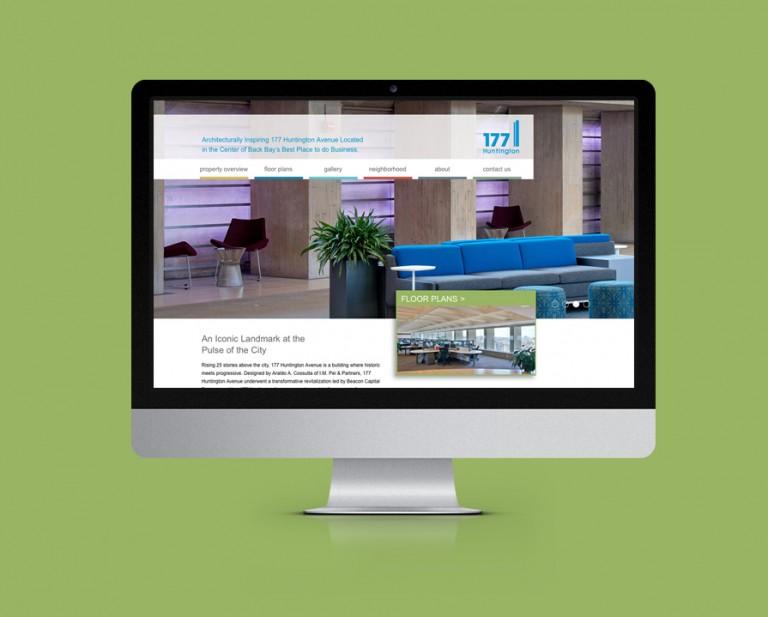 177 Huntington Avenue Website Design