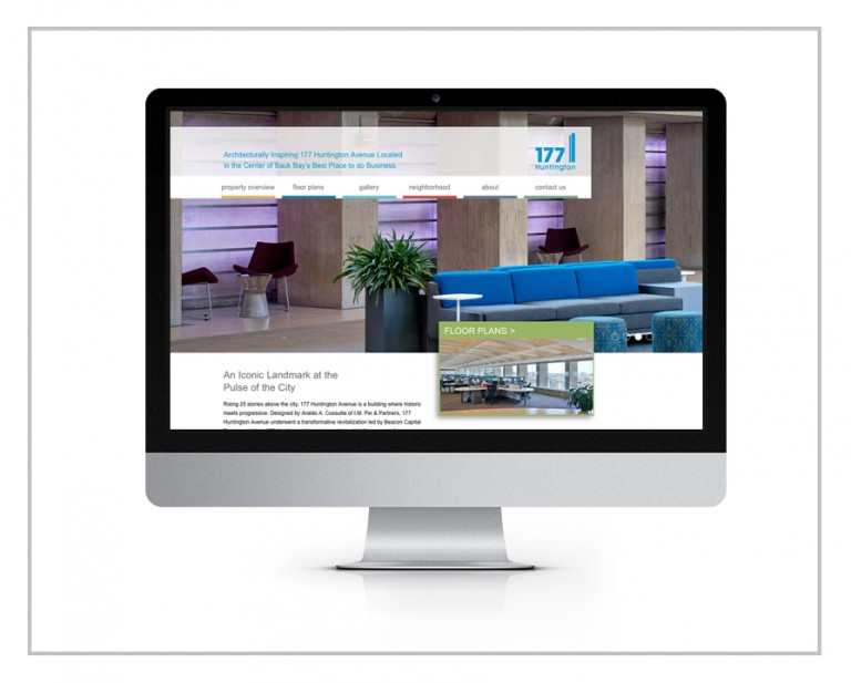 177 Huntington Avenue Website Design