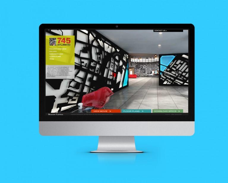 745 Atlantic Avenue Website Design