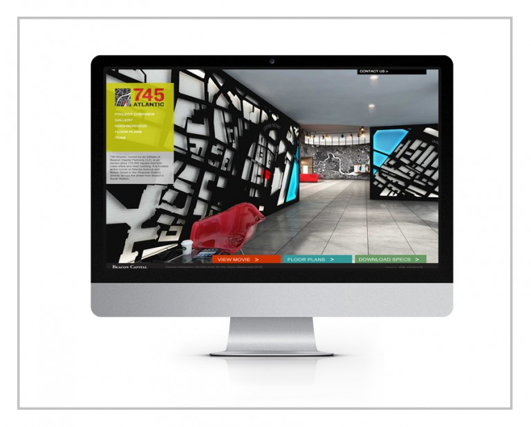 745 Atlantic Avenue Website Design