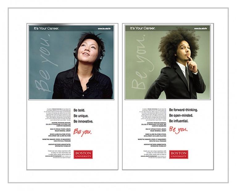 Boston University Recruitment Campaign