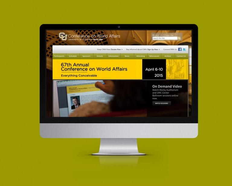 University of Colorado Boulder Website Design
