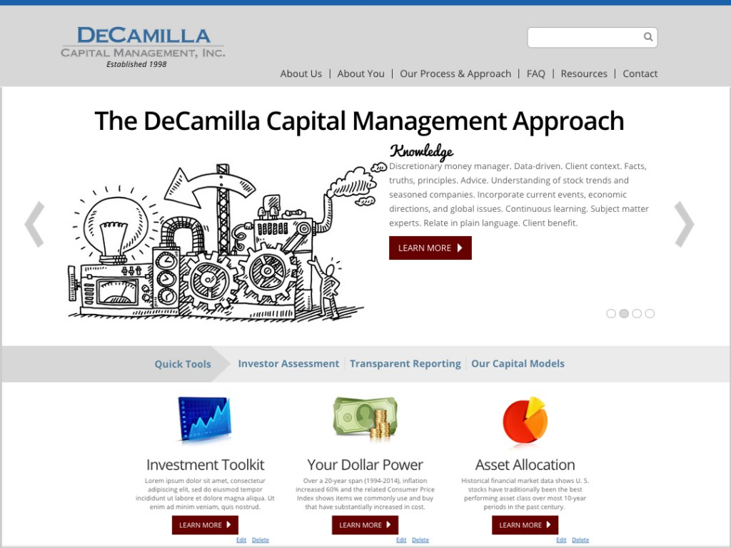 DeCamilla Capital Management