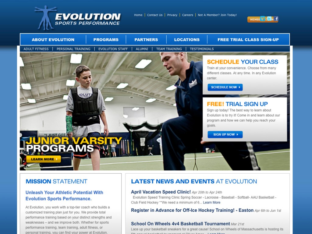 Evolution Sports Performance