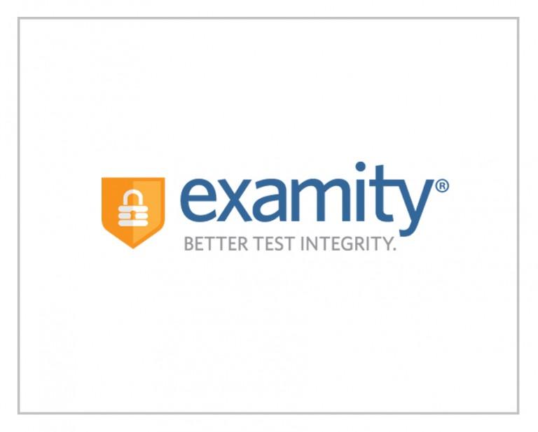 Examity Logo Design & Corporate Identity
