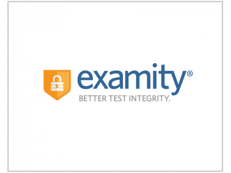 Examity Logo Design & Corporate Identity