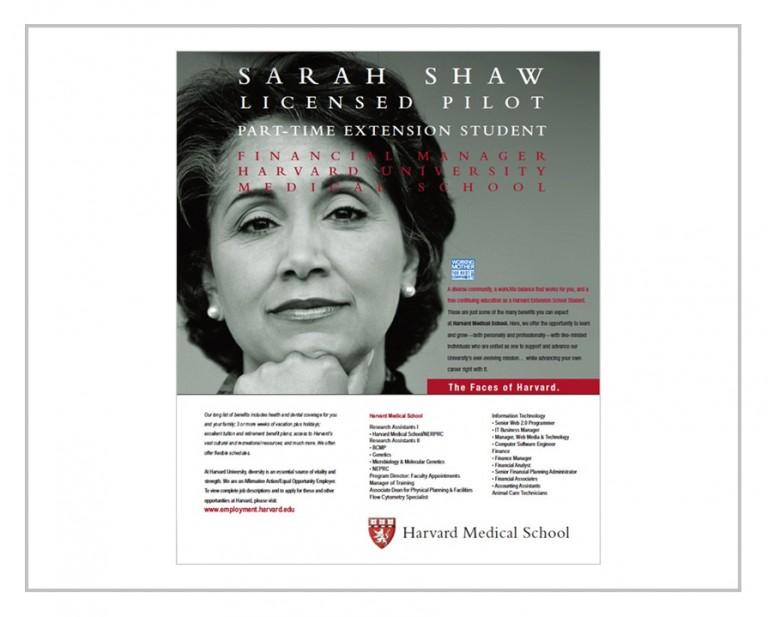 Harvard University Journal Advertising