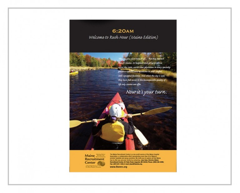 Maine Recruitment Print Advertising