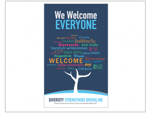 Town of Brookline Diversity Poster